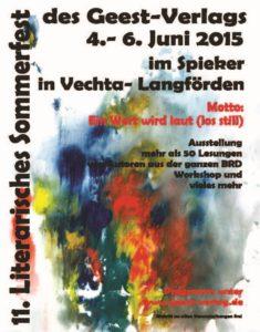 Sommerfest des Geest Verlags